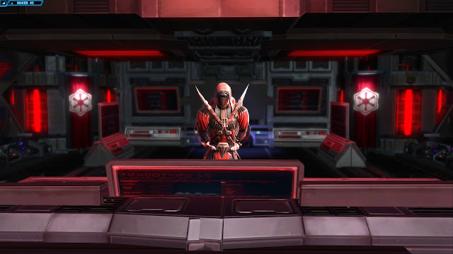 Star Wars: The Old Republic, rise of the hutt cartel mekab, Darth Marr