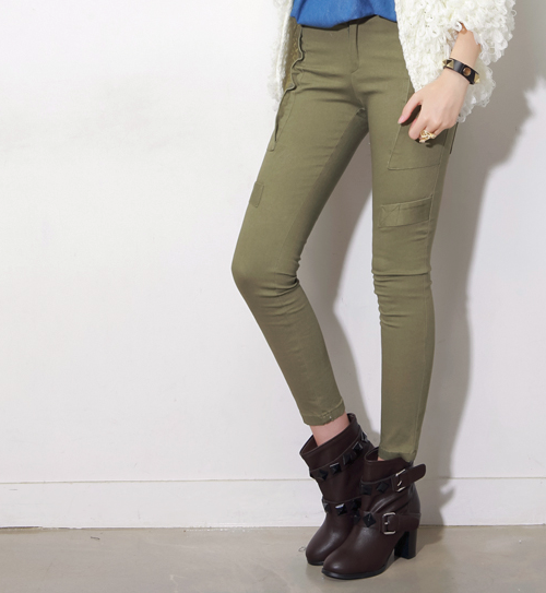 Lita Cargo Skinny Pants