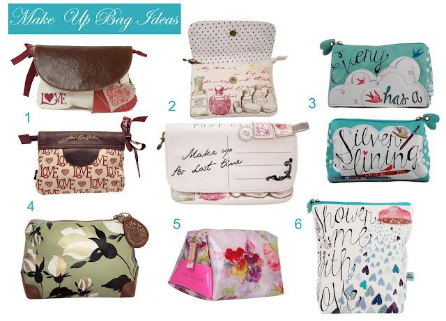 Make Up Bag Ideas