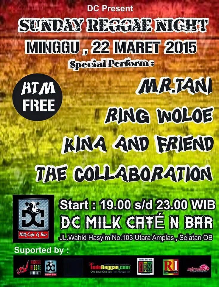 Event : Sunday Reggae Night