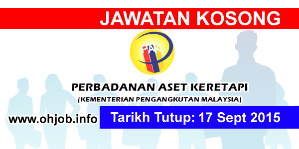 Jawatan Kerja Kosong Perbadanan Aset Keretapi (RAC) logo www.ohjob.info september 2015