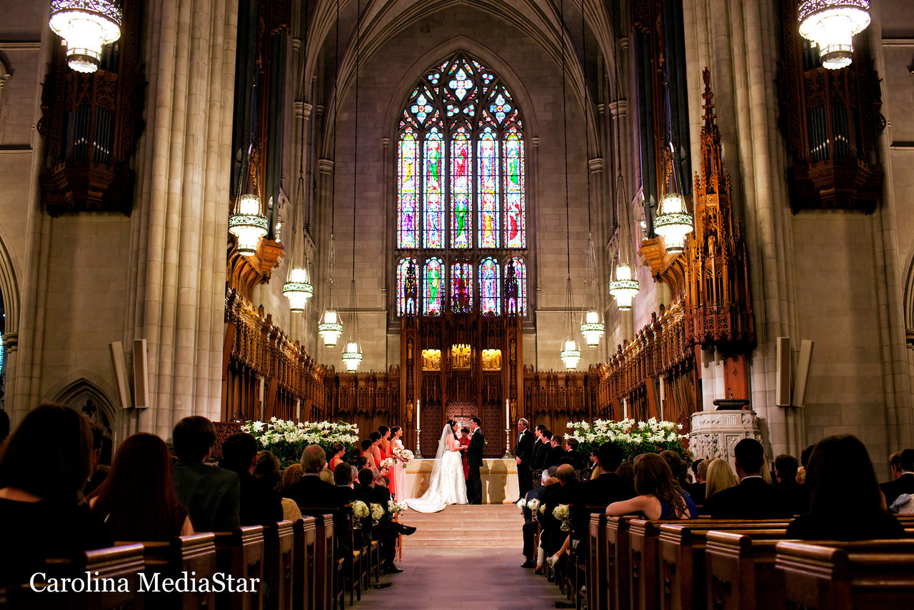 Camera Really Is Lost In A Place Like Duke Chapel When It Comes To Getting Sharp Photos From Distance The Original Post Of This Wedding Here