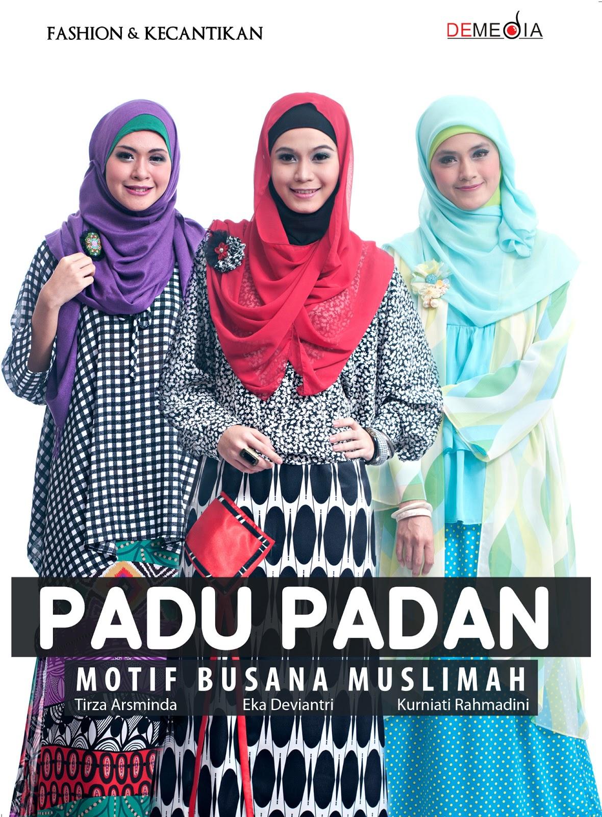 Buku Padu Padan Motif Busana Muslimah