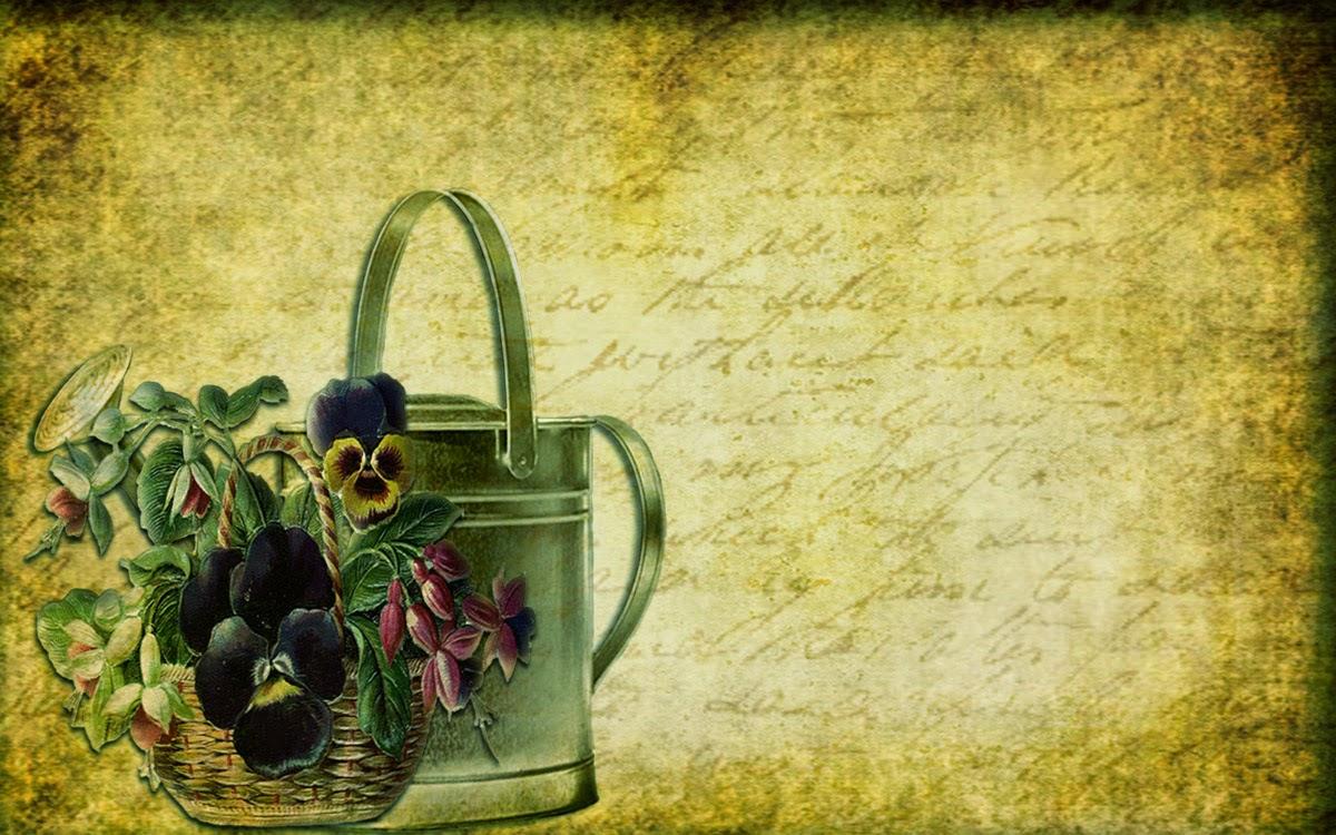 free graphics Victorian garden