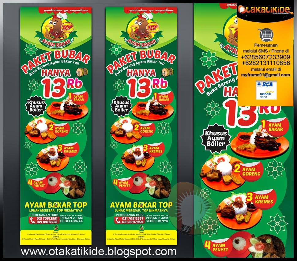 jasa desain banner spanduk promosi ramadhan rumah makan perusahaan ukm di surabaya jakarta sidoarjo gresik
