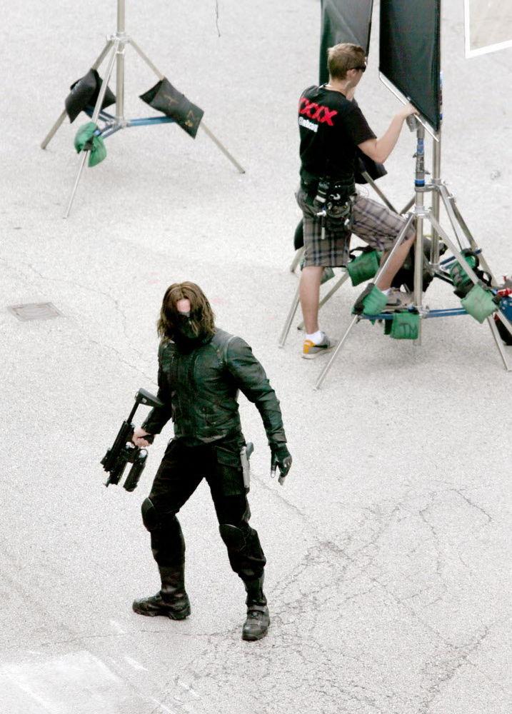"""Sebastian Stan es """"El Soldado de Invierno"""""""