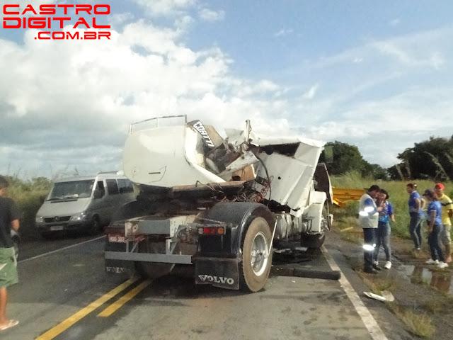 IMAGEM - Fotos do acidente na BR 135 em Miranda do Norte - MA