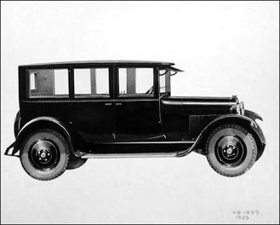 The 1925 dodge brothers four door sedan