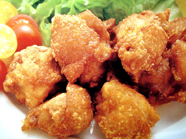 tori no kara age japanese style fried chicken