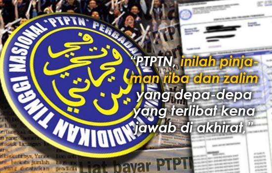 Lelaki terkejut pinjaman PTPTN yang dibayar setiap bulan tidak bergerak