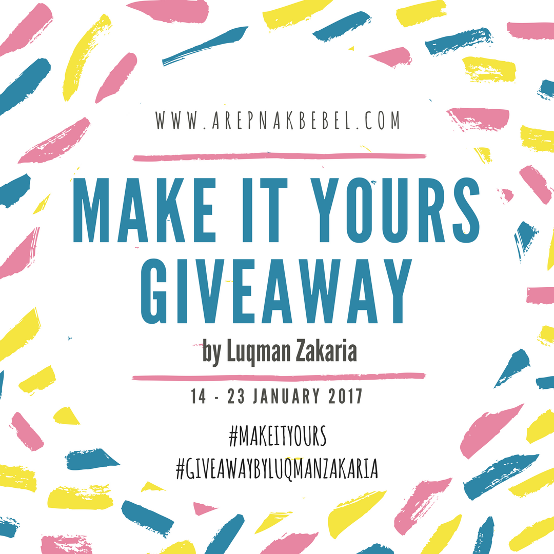 MAKE IT YOURS GIVEAWAY