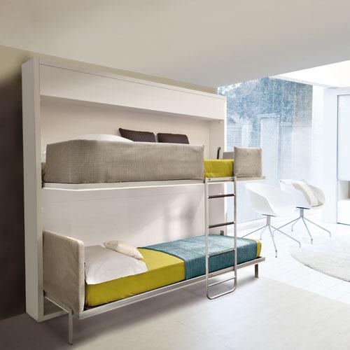 Amueblar habitaci n con literas abatibles - Quitamiedos para literas ...