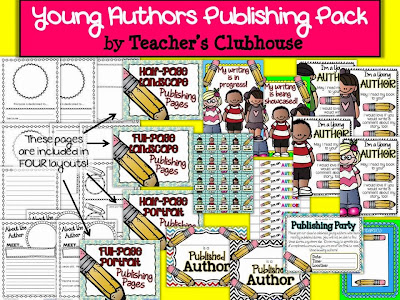 http://www.teacherspayteachers.com/Product/Young-Authors-Publishing-Pack-from-Teachers-Clubhouse-952887