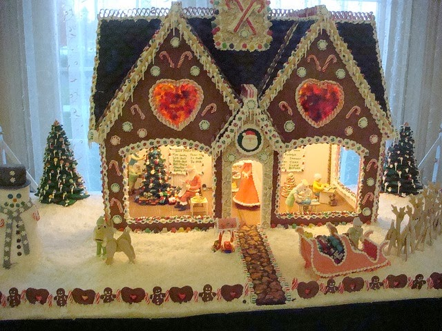 Galloway Gingerbread House Photo By Inker1