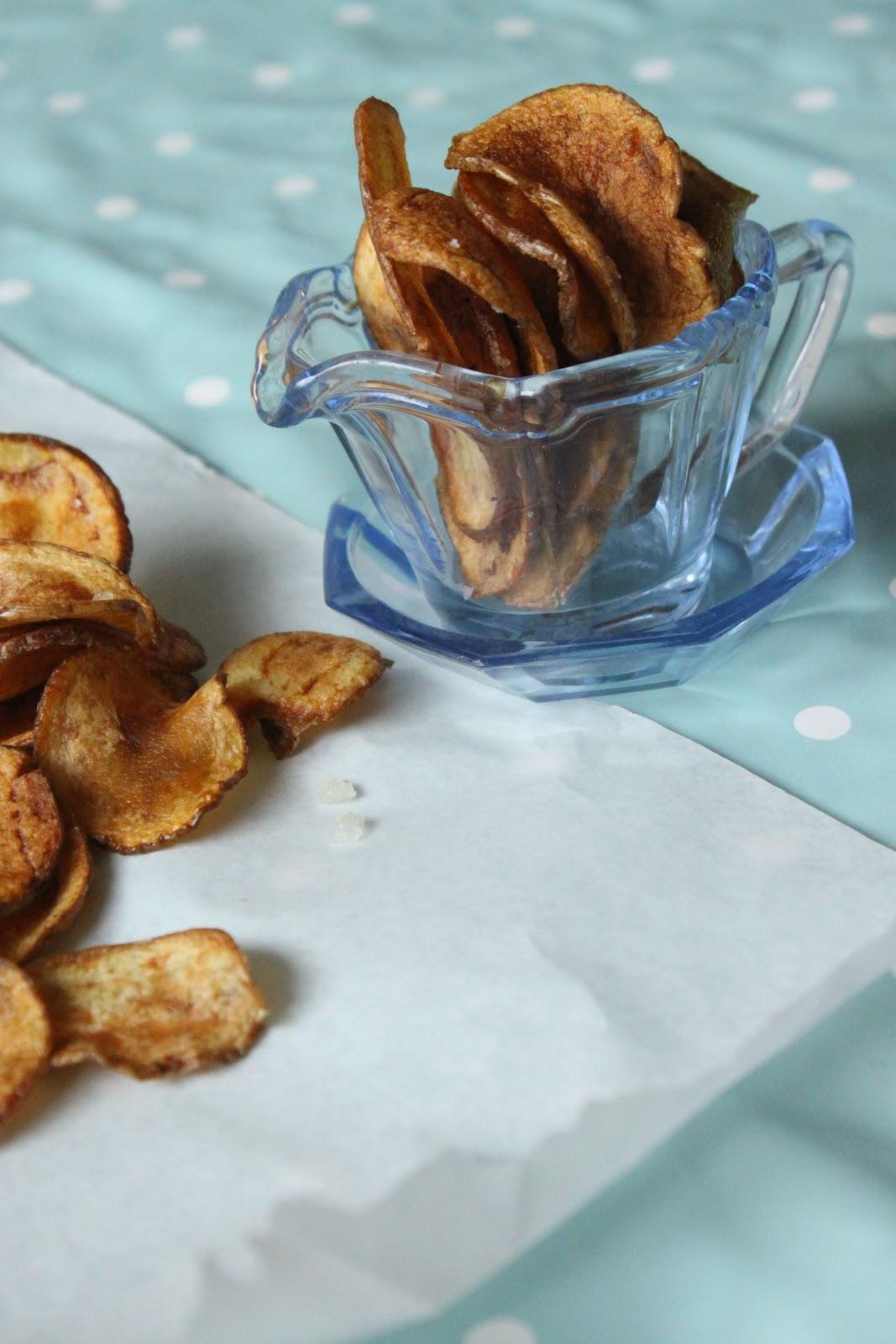 MsMarmiteLover: How to: make your own crisps!