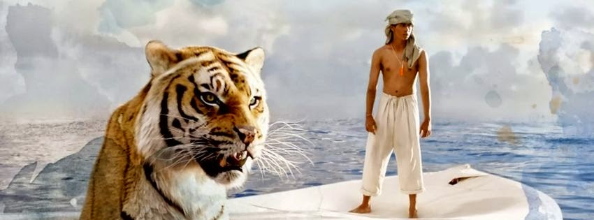 Une belle couverture facebook life of pi