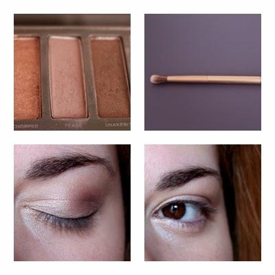 Deuxième étape maquillage Naked 2