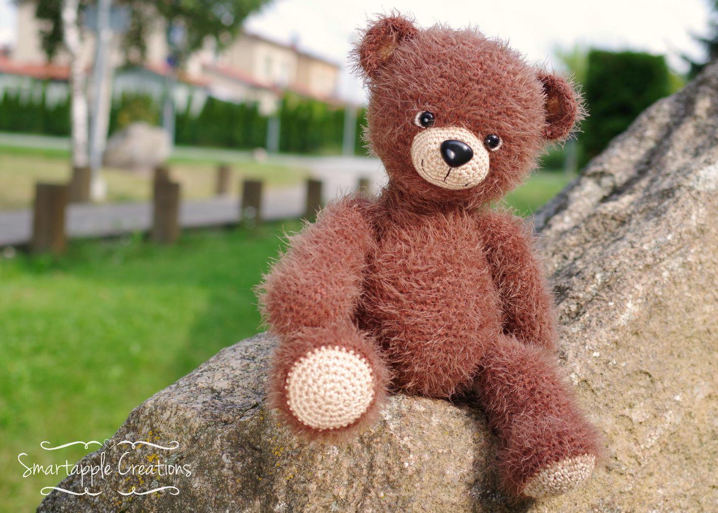 Smartapple Creations - amigurumi and crochet: Cuddly teddy ...