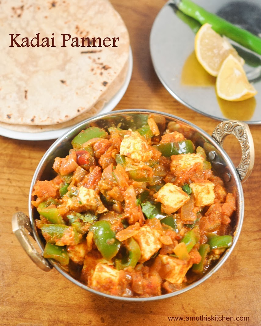 Indian food recipes indian recipes desi food desi recipes kadai paneer preparation time 10 minutes cooking time 15 minutes serves2 forumfinder Gallery