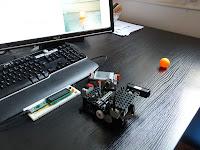 robot tourelle suiveur de balles