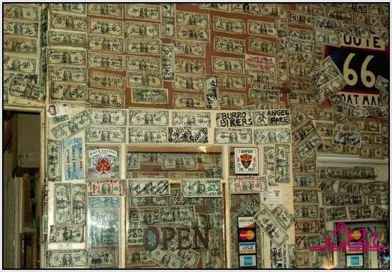 750 الف دولار تغطى جدران مطعم 834.jpg