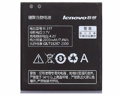 Harga Baterai Lenovo A800 Original