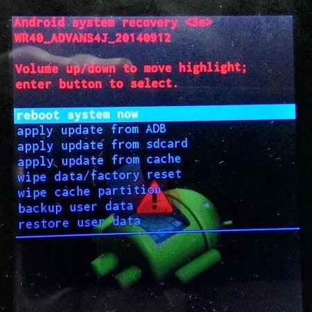 Cara Hard Reset Android China Dengan Recovery China