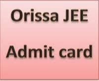 Odisha JEE Admit Card 2014 Download  Now JEE Call Latter 2014