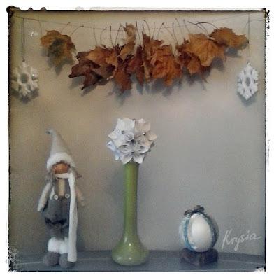 Krysia to uszyła - dekoracje zimowo-jesienne