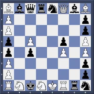 Echecs & Etude : Les Blancs jouent et matent en quatre coups - Niveau Difficile