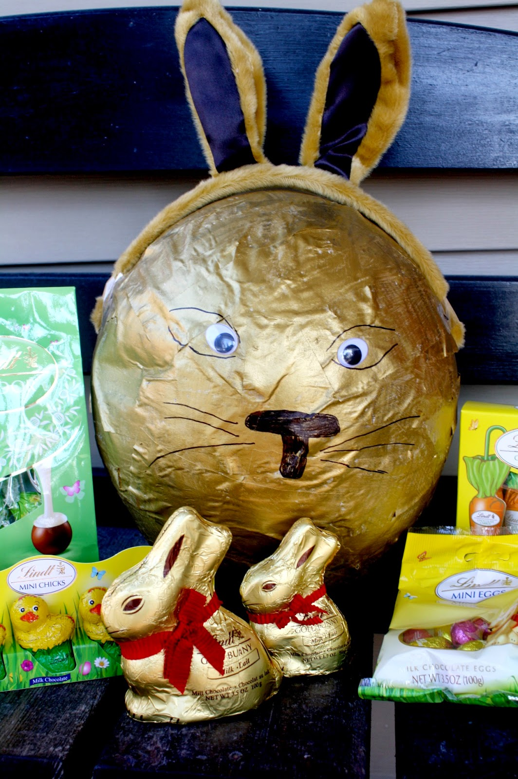 #ad A Better Easter Basket Paper Mache Bunny