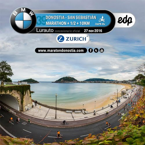 FINISHER MARATÓN DONOSTI 2016