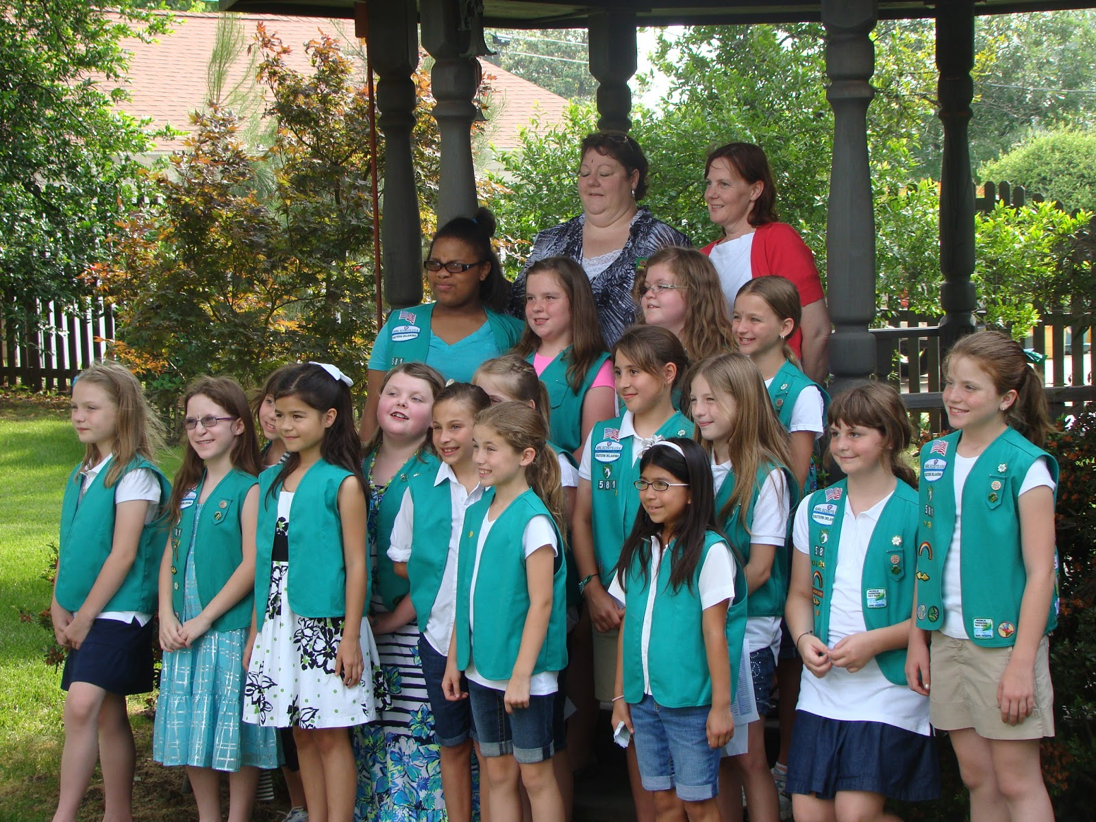 Em and nate s family blog girl scout bridging ceremony may 2012