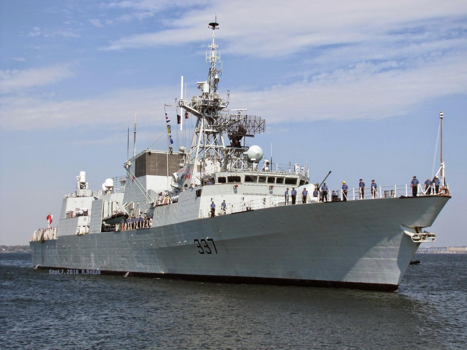 Fregat Kanada akan bergabung pasukan NATO di Ukraina