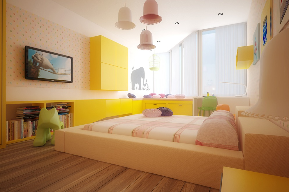 Colorful Kids Room Design Ideas