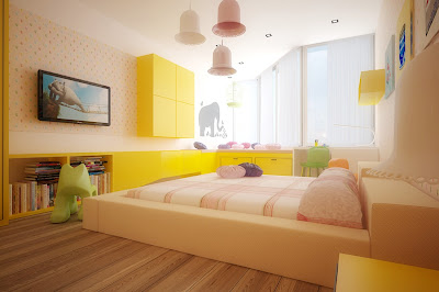 Colorful Kids Rooms Ideas