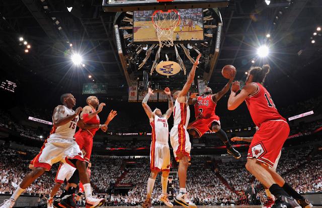 Jogo de basquete do Miami Heat