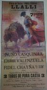 Eduardo Valenzuela, anunciado en Llalli, el 07/08.