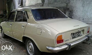 Sedan Tua Prancis Legendaris Peugeot 504 - JOGJA