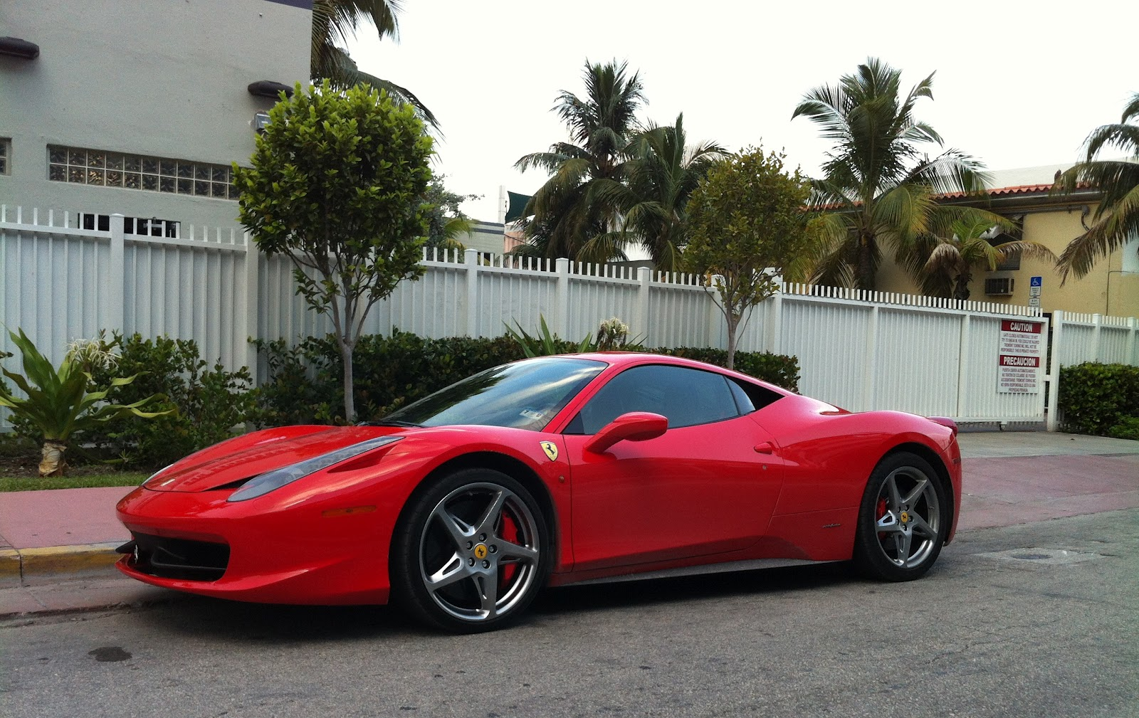 458 red cars - photo #35