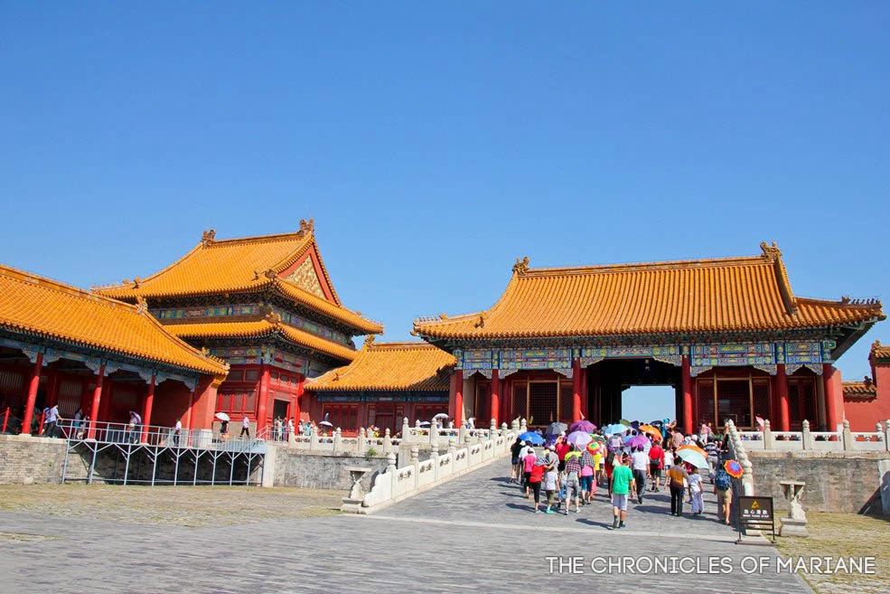 Forbidden City tiananmen china