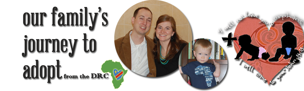 Jon & Bethany's Journey to adopt from the DRC