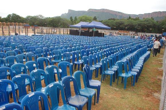 Live Streaming of Bahuballi Audio Launch Sri Venkateswara University (SVU) Grounds, Tirupathi