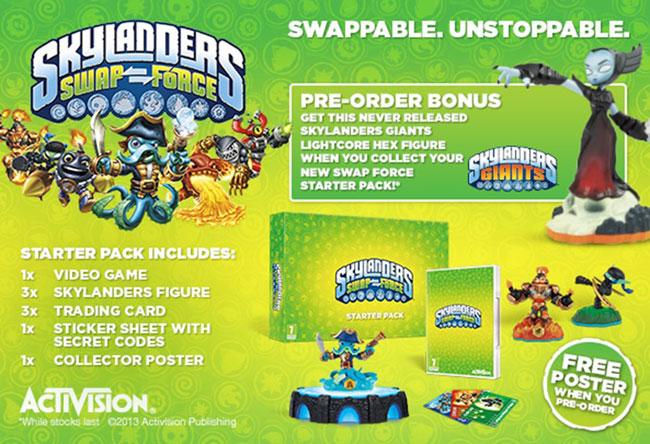 Skylanders Swap Force: New Characters title=
