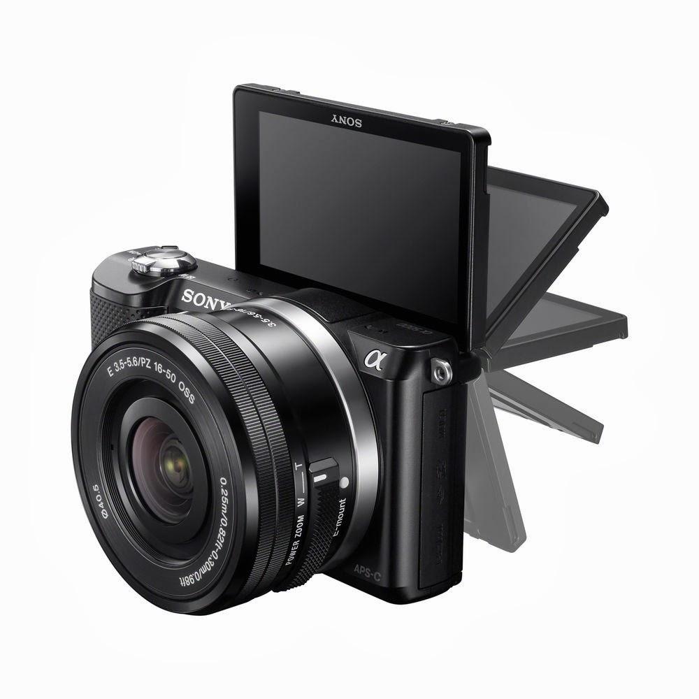 cámara compacta, Sony A5000, Sony Alpha 5000, Conectividad Wi-Fi, Vídeo Full HD, nueva cámara, mirrorless camera, Wi-Fi connectivty,