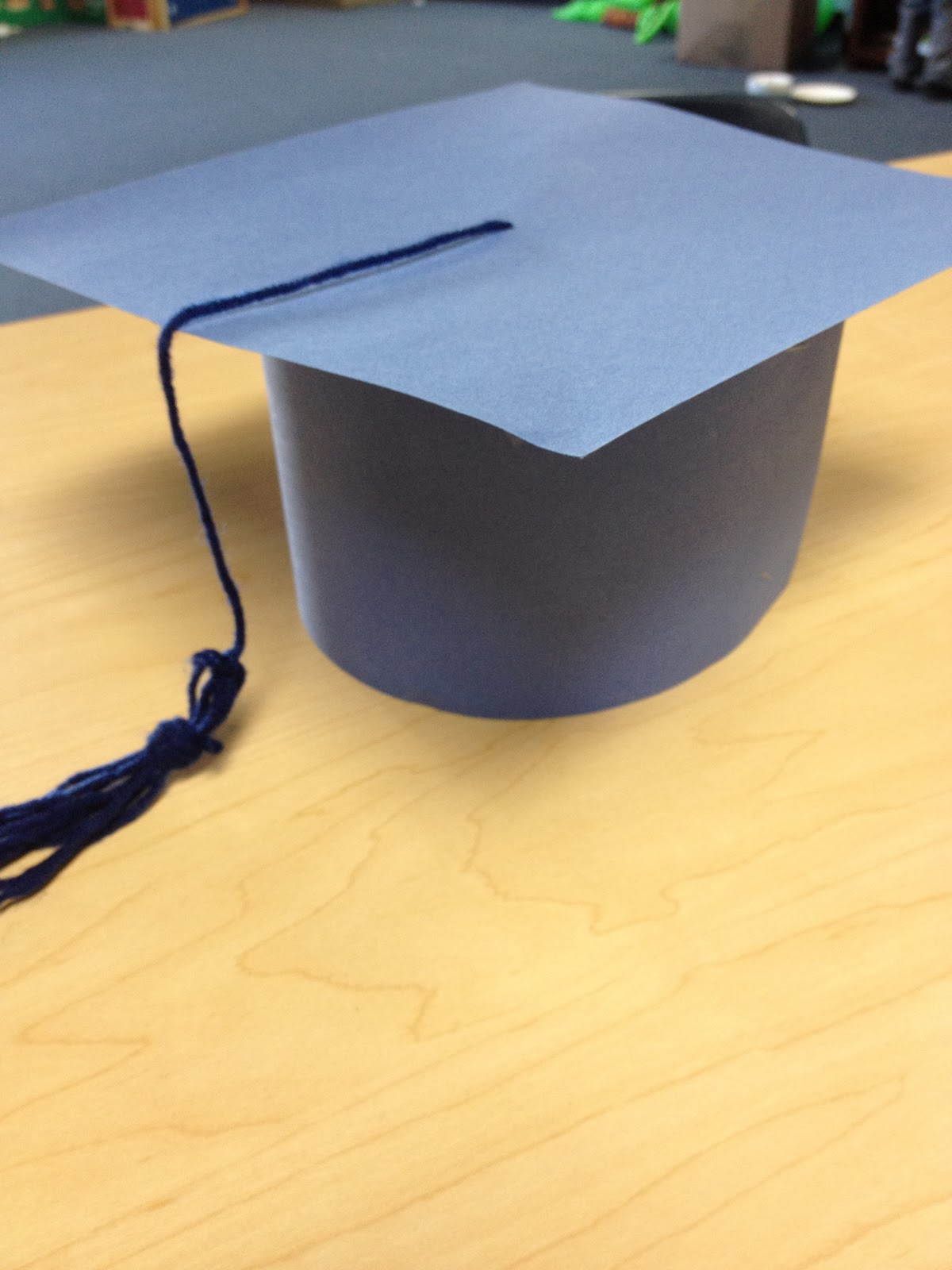 paper graduation caps This easy to make graduation cap is terrific for kids to make for a preschool graduation it's made from inexpensive supplies you may already have check the graduation crafts shown below to add to the party theme.