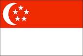 ธงประจำชาติสิงคโปร์