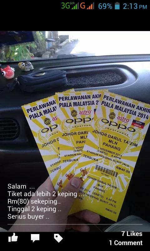 final piala malaysia 2014
