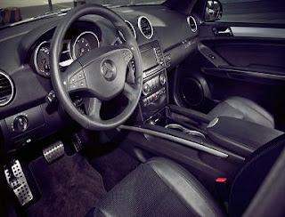 Mercedes ML63 AMG car