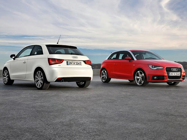 Back and front picture of Audi A1